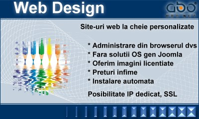 Web Design LIGHT Hosting web inregistrari .org